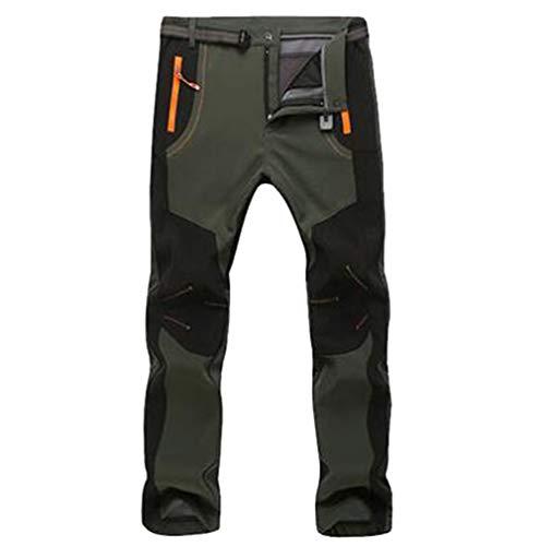 YiLianDa Pantalones de Trekking Softshell Pantalones
