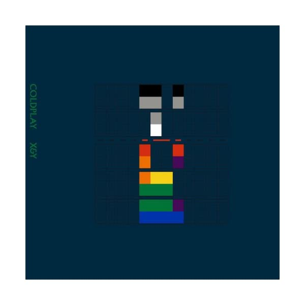 x & y vinile coldplay album