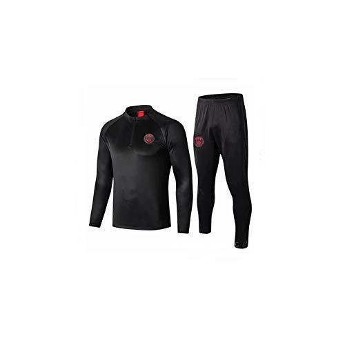 JieYanLufusi Paris Jersey Langarm Trainingsanzug PSG Jacke Herbst Winter Jacke Anzug Fußball Uniform Custom Herren Gr. L, farbe