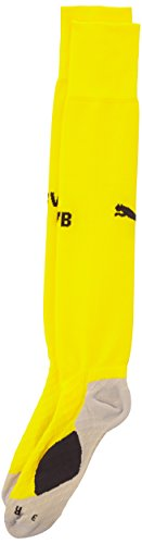 Puma Stutzen BVB Home Socks, Cyber Yellow, 5, 745824 02