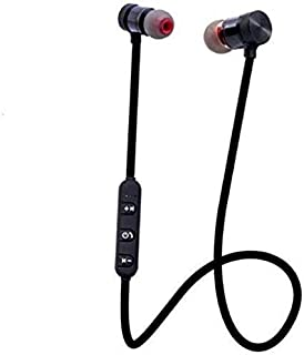 Anonymous Magnetic Bluetooth Headphone with Mic, Noise Isolation and Integrated Neckband for Activity: Color May Vary