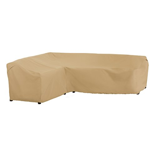 Classic Accessories Terrazzo Patio L-Shaped Sectional Sofa Cover, Left Facing