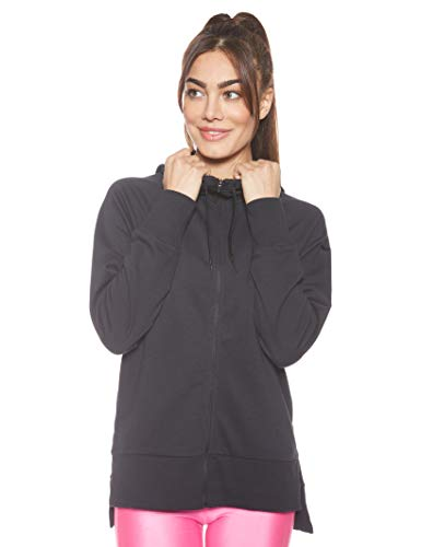 Nike Damen Dry Hoodie, Schwarz (Black), XS