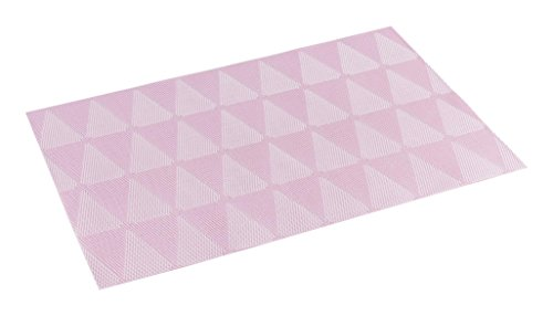 décorline set de table 30x45cm pvc takea rose
