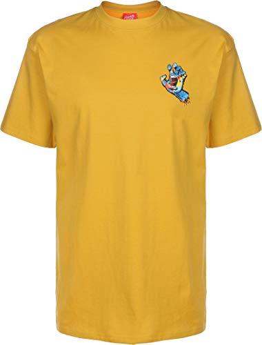 SANTA CRUZ Primary Hand T-Shirt Mustard