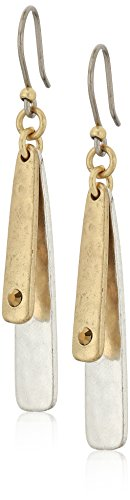 Lucky brand two tone double layer earrings -$15.50(47% Off)
