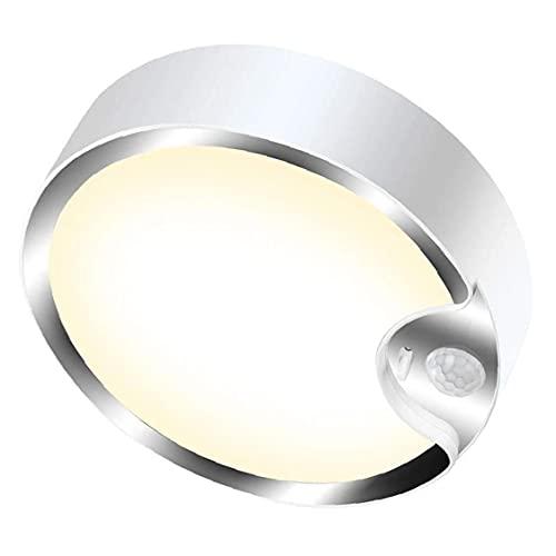 TOPofly Luz de Techo LED del Sensor de Movimiento de Intensidad Regulable Tacto Ligero de la batería Caliente luz accionada con Sensor de luz para el sótano Escalera Pasillo de lavandería