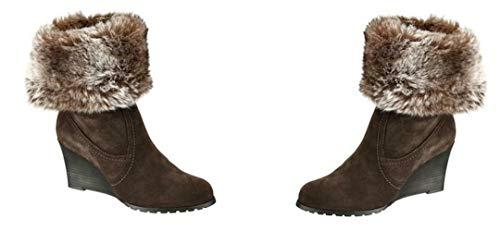 Tamaris dames winterlaarzen laarzen winterlaarsjes, 412577 EU 40, bruin