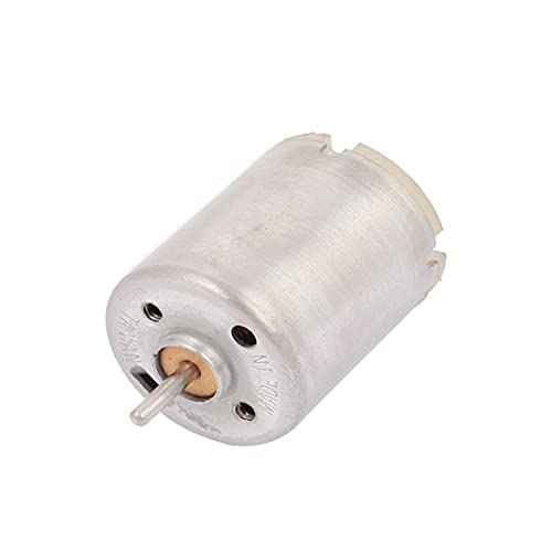 New Lon0167 Motor microi cilíndrico de velocidad rotatoria de CC 6V 5200 RPM para DIY Toy Car(DC 6 V 5200 RPM Rotationsgeschwindigkeit Zylinder Microi Motor Für DIY Spielzeugauto