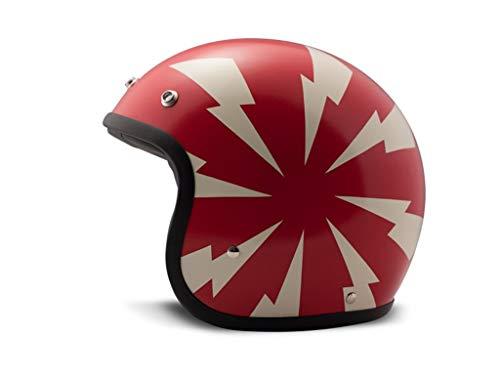 Helm DMD Vintage Bang rot/matt, S