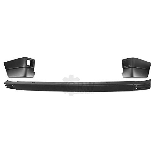 Set Stoßstange Ecken hinten 3 teilig schwarz für T4 Transporter Kombi Bj. 90-96