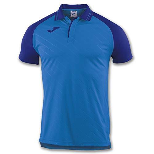 Joma Polo Torneo II Royal M/C Camiseta, Unisex Adulto, 2XS