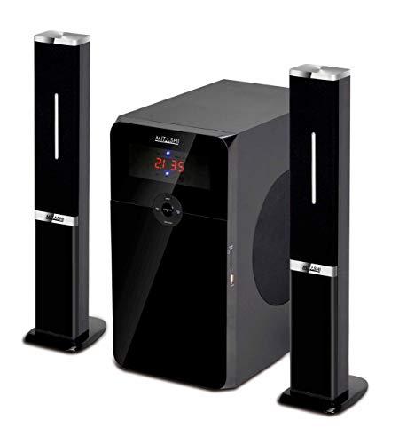 Mitashi HT 6597 BT2.1 Channel Multimedia Bluetooth Speaker System (Black)