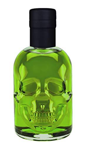 Absinth Skull Totenkopf grün 0,5L Testurteil SEHR GUT(1,4) Maximal erlaubter Thujongehalt 35mg/L 55% Vol