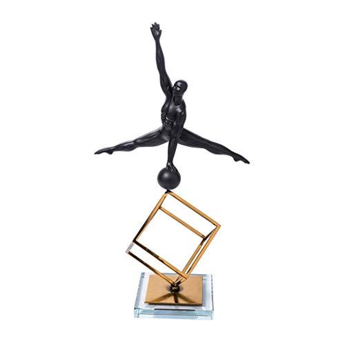 Home Decoration/Feng Shui tafel gymnastiek figuur Action Modelage ornamenten sculptuur woonkamer slaapkamer ingang hotel café elegante decoratie B: 27.5 cm × 14 cm × 50 cm