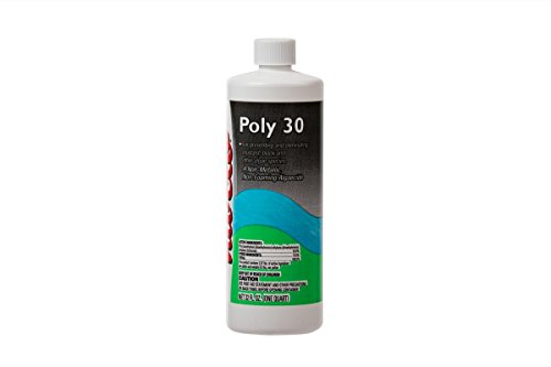 Nu-Clo Quart Black Algaecide Poly 30 for Swimming Pools Non-Metallic & Non-Foaming 32 oz 2017