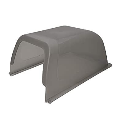 PetSafe ScoopFree Self-Cleaning Cat Litter Box Privacy Hood, Taupe
