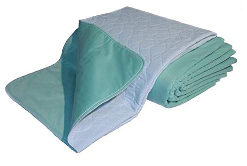 """Nobles Extreme Comfort Premium Quality Bed Pad/Underpad, Quilted, Waterproof, Reusable and Washable, 34"""" X 52"""""""