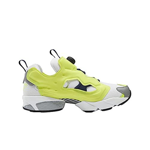 Reebok Instapump Fury OG Calzado Deportivo Moda para Hombre Color Solar Yellow/White/Collegiate Navy Talla 44.5