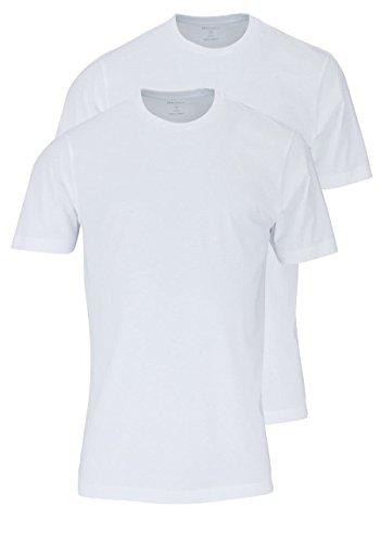 Herren T-Shirt - Doppelpack O-Neck, Wei�,XL