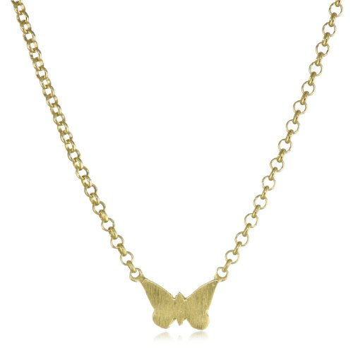 Dogeared Whispers Butterfly Necklace