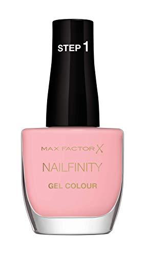 Max Factor Smalto Unghie Nailfinity Gel Colour, Smalto a Lunga Tenuta Effetto Gel, 230 Leading Lady