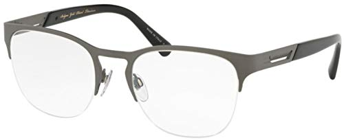 Bulgari 0BV 1102TK 2040 54 Gafas de sol, Plateado (Titanium Plated Matte), Unisex Adulto