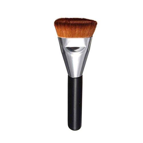 Babysbreath17 Femmes Filles Maquillage monobrosse Blending Contour Cheek Fard plat Fond de teint poudre Pinceau visage Big Beauty Kit 2#