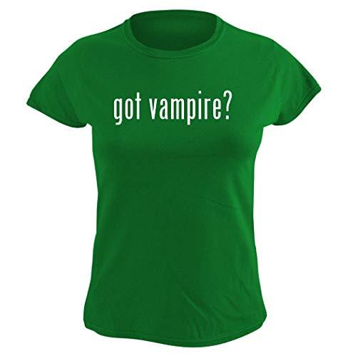 Harding Industries got Vampire? – playera gráfica para mujer, Verde, XXL