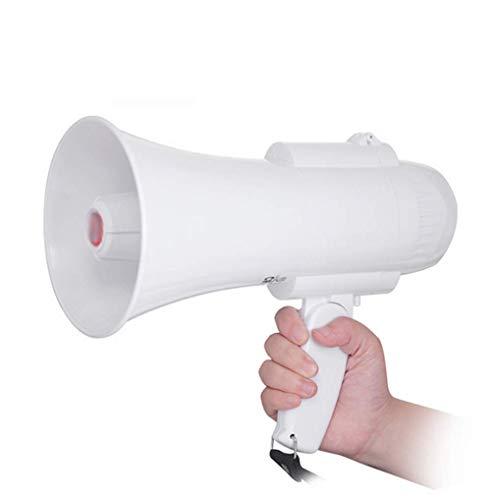 Amplificador altavoz de alarma Llamar al manillar plegable de alta potencia Abs Ingeniería de Materiales megáfono grabación al aire libre Hornos Megáfono 15w de alta potencia de 120 segundos de grabac