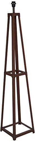 Better & Best vloerlamp, ijzer, industriële stijl, kleur roestbruin, afmetingen: 29 x 29 x 145 cm, materiaal: metaal