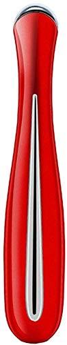 Instrumento de masaje de belleza ocular, masaje Pen.Dark Circle Eliminator, Ojo Mini Massage Pen Anti-arrugas Anti-Anscing Pen Instrumento de Belleza Micro-Vibración Bolsa Calmante Dark Circles-Red