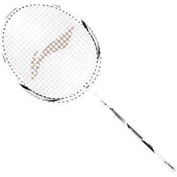 Li-Ning XP-90-IV Aluminium Badminton Racquet (White/Silver)