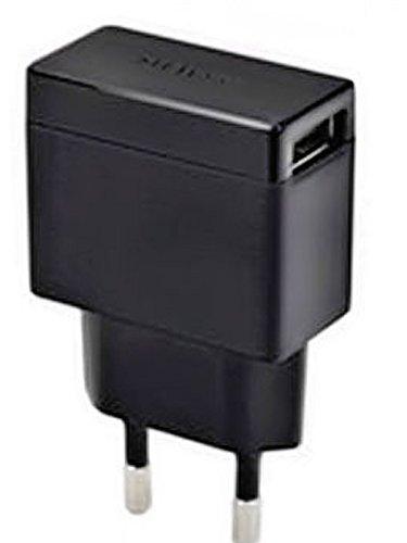 Sony Handy Ladegerät EP-880 - EP880 - mit Micro USB Datenkabel EC-803 – Ladekabel kompatibel mit Sony Mobiltelefonen mit Micro USB Ladeanschluss