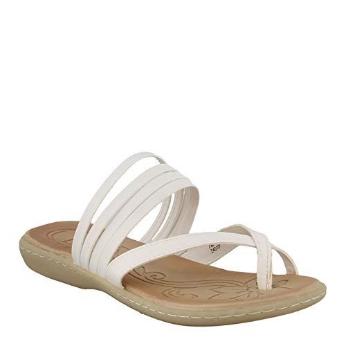 b.o.c. Women's, Alisha Sandal White 10 M