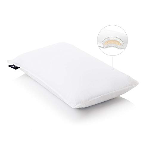 MALOUF Shredded Talalay Latex with Gelled Microfiber Bed Pillow