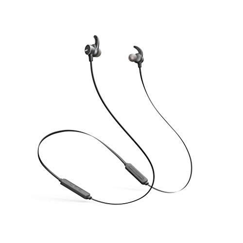 Cómodos Auriculares inalámbricos, Bluetooth IPX4, Resistentes al Agua y al Polvo, Resistentes al Sudor para Entrenamiento Deportivo, Correr, Gimnasio, 8 Horas de reproducción - ELARI BeatBand (Negro)