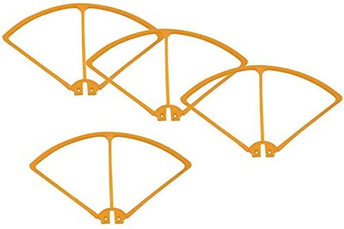 Set di protezioni per paraurti di protezione dell'elica per drone per quadricottero RC Syma X8C X8W X8G X8HW, 5 colori tra cui scegliere , Accessori di ricambio RC ( Colore : arancione ) stia tranquil
