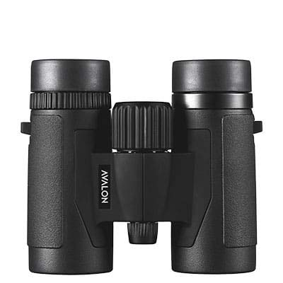 Avalon Optics 8x32 Mini HD Binoculars - Perfect for Birdwatching, Hiking, Boating, Events, and Concerts (Black)