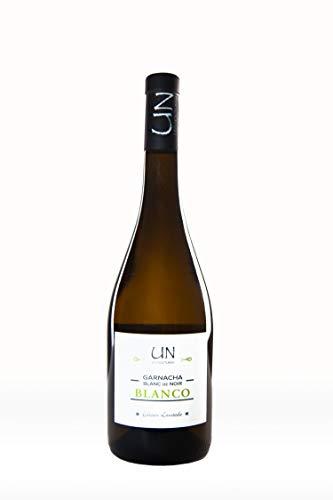 UN Garnacha Blanc de Noir - Vino Blanco - 100% Garnacha Tinta - Bodegas Ejeanas - 1 Botella de 750ml