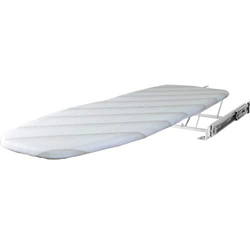Tabla De Planchar Incorporada Retráctil Tabla De Planchar Plegable Extraíble para Armario con Cubierta Resistente Al Calor para Ropa De Casa, Ahorro De Espacio, Fácil De Instalar