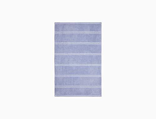Calvin Klein Home Eileen Bath Collection, Hand Towel, Periwinkle/White