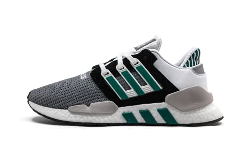 adidas Men's EQT Support 91/18 Core Black/Clear Granite/Sub Green AQ1037 (Size: 8)