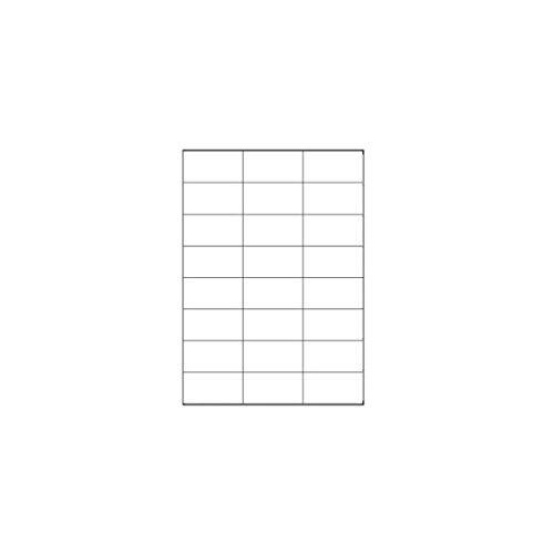 Megastar LP4MS-7037 - Pack 100 hojas etiquetas autoadhesivas
