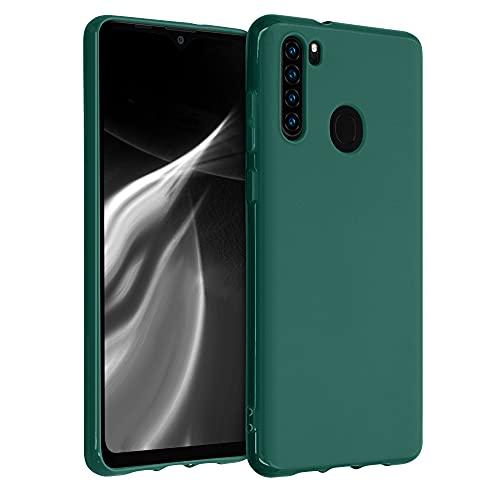 kwmobile Hülle kompatibel mit Blackview A80 Pro (2020) - Hülle Silikon - Soft Handyhülle - Handy Hülle in Türkisgrün