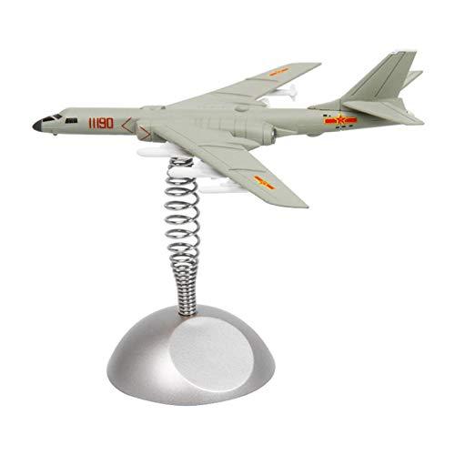 Almencla 1 Pieza Modelo de Avión Bomber-6K Avión de Combate Y Soporte para de Coche Decorativa - Bombardeo