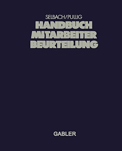 Handbuch Mitarbeiterbeurteilung