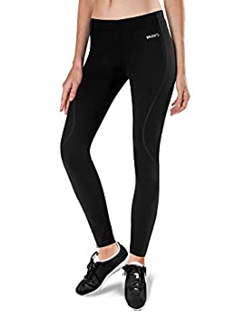 BALEAF Women s Thermal Fleece Running Pants Cycling Tights Cold Weather Leggings for Bike Hiking Black Size L