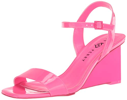 Katy Perry womens The Ira Wedge Sandal Neon Pink 10