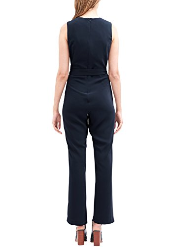 s.Oliver BLACK LABEL Damen Jumpsuit, Blau (Deep Blue) - 2
